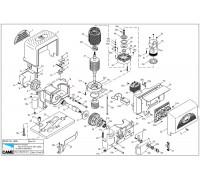 Ремонт привода для откатных ворот Came  BK1800  BKS18AGS