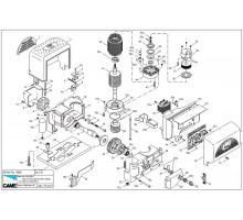 Ремонт привода для откатных ворот Came  BK1200  BKS12AGS
